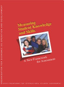 Measuring Student Knowledge and Skills A New Framework for Assessment Pdf/ePub eBook