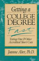 Getting a College Degree Fast Book