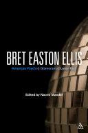 Bret Easton Ellis [Pdf/ePub] eBook