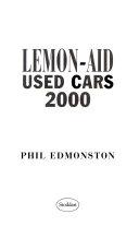 Lemon Aid Used Cars 2000