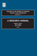 Research in the History of Economic Thought and Methodology: A ...