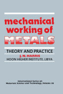 Mechanical Working of Metals [Pdf/ePub] eBook