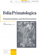 Primate Evolution And The Environment