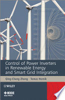 Control Of Power Inverters In Renewable Energy And Smart Grid Integration Book PDF