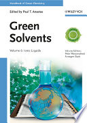 Green Solvents Book