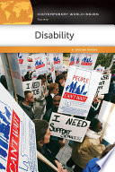 Disability  A Reference Handbook