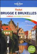 Guida Turistica Brugge e Bruxelles. Con cartina Immagine Copertina