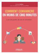Pdf Comment convaincre en moins de cinq minutes Telecharger