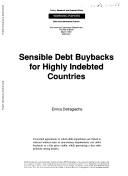 Sensible Debt Buybacks for Highly Indebted Countries Pdf/ePub eBook