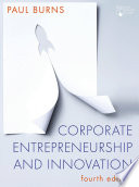 Corporate Entrepreneurship And Innovation