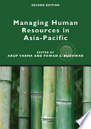 Managing Human Resources in Asia Pacific