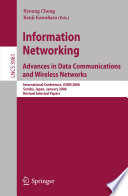 Information Networking Advances in Data Communications and Wireless Networks Book