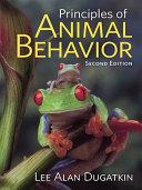 Principles of Animal Behavior