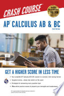 AP   Calculus AB   BC Crash Course Book   Online