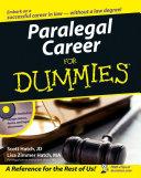Paralegal Career For Dummies ebook