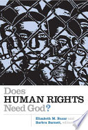 Does Human Rights Need God  Book PDF
