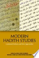 Modern Hadith Studies