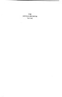 The Annual Register 2000