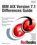IBM AIX Version 7 1 Differences Guide