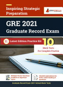 Graduate Record Exam  GRE  2021   10 Mock Test For Complete Preparation