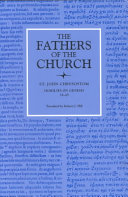Homilies on Genesis 18   45  The Fathers of the Church  Volume 82