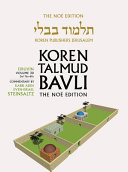 Koren Talmud Bavli V3d  Eiruvin  Daf 76a 89a  Noe  Color PB  H e