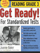 Get Ready  For Standardized Tests   Reading Grade 3