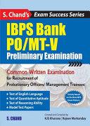IBPS BANK PO / MT-V Preliminary Examination