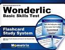 Flashcard Study System for the Wonderlic Basic Skills Test