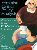 Feminist Critical Policy Analysis Ii Book PDF