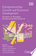 Entrepreneurship, Growth and Economic Development