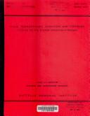 Phase  Thermodynamic  Oxidation  and Corrosion Studies of the System Uranium nitrogen