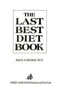 The Last Best Diet Book