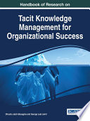 Handbook Of Research On Tacit Knowledge Management For Organizational Success Book