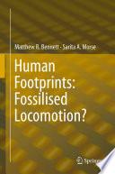 Human Footprints  Fossilised Locomotion