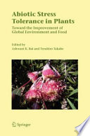 Abiotic Stress Tolerance in Plants Book