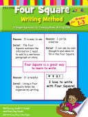Four Square Writing Method For Grades 1 3 Enhanced Ebook
