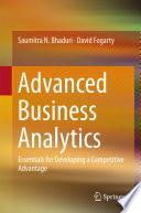 Advanced Business Analytics Book PDF