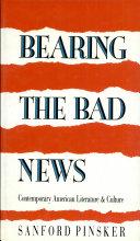 Bearing the Bad News Pdf/ePub eBook