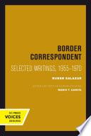Border Correspondent