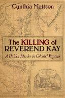 The Killing of Reverend Kay Pdf/ePub eBook
