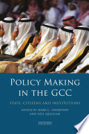 Policy Making In The Gcc