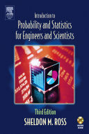 Introduction to Probability and Statistics for Engineers and Scientists Pdf/ePub eBook