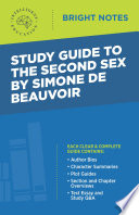 Study Guide to The Second Sex by Simone de Beauvoir