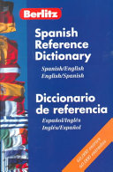 Berlitz Spanish English Bilingual References Dictionary