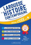 Le Larousse de l'Histoire contemporaine