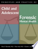 Principles And Practice Of Child And Adolescent Forensic Mental Health Book PDF