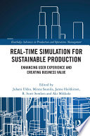 Real-time Simulation for Sustainable Production