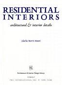 Residential Interiors Book