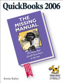 QuickBooks 2006  The Missing Manual